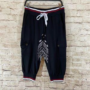 Men's retro district shorts size large